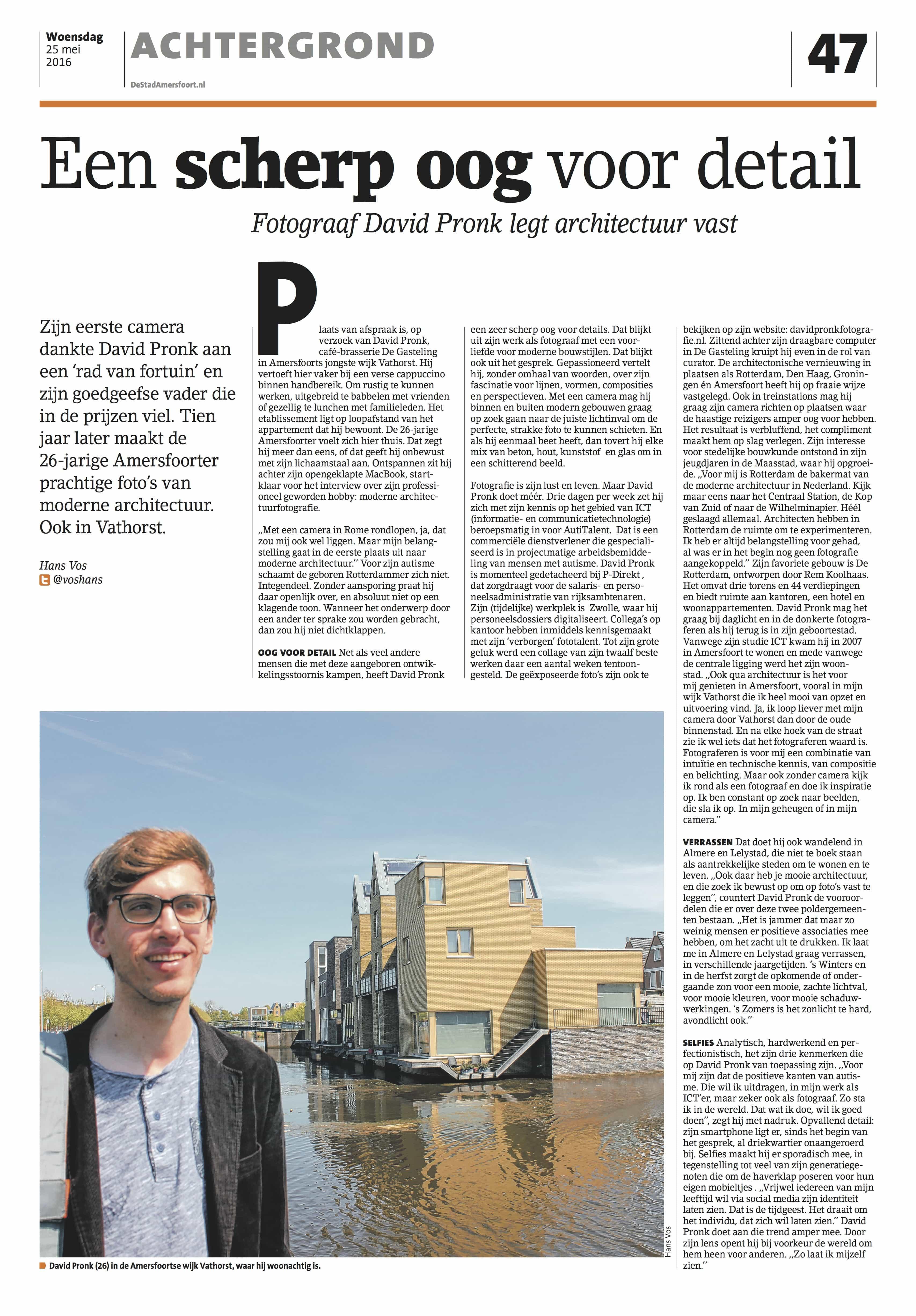 De Stad Amersfoort(Editie Noord) - 25 Mei 2016