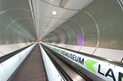 Pedestrian tunnel Wilhelminaplein