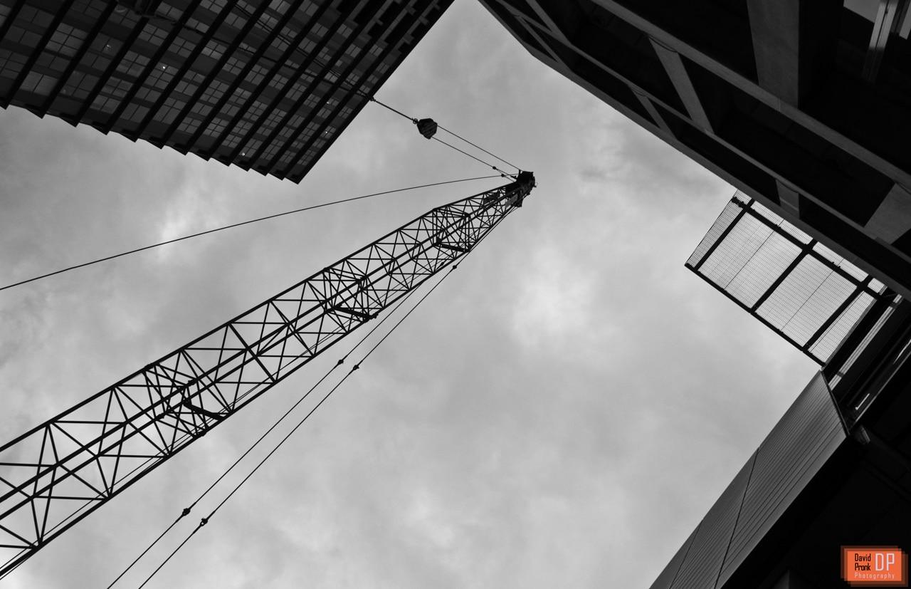 Looking up - Schouwburgplein