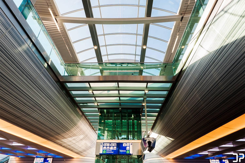 Nieuwe spoortunnel Station Zwolle