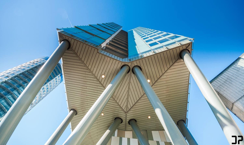 Den Haag - Concrete spider