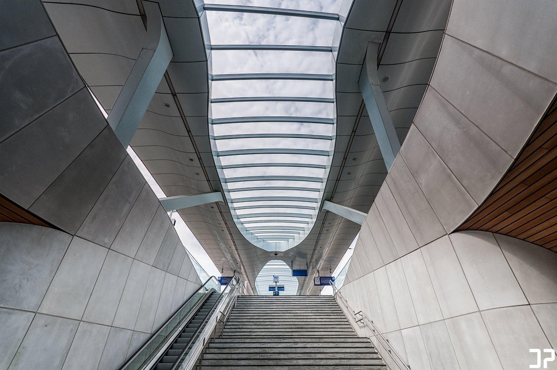 Station Arnhem - Lines and curves