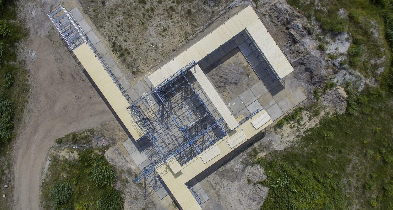 Stijlpaviljoen Amersfoort - Vanuit de lucht