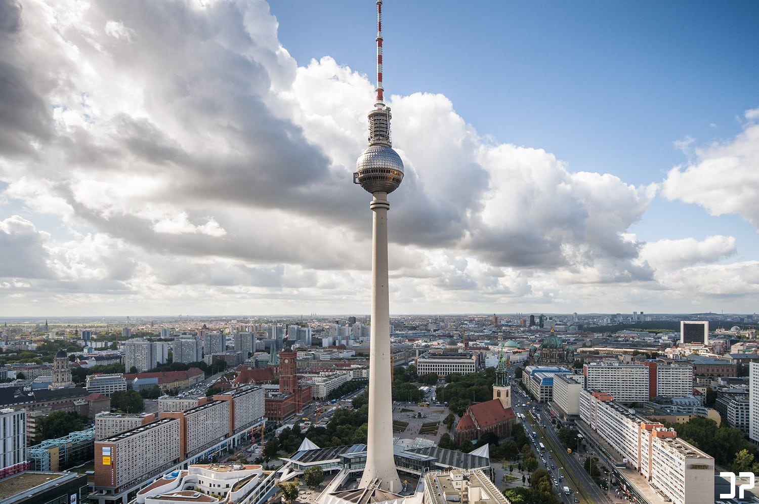Berlin - Alexanderplatz | Park Inn observation deck