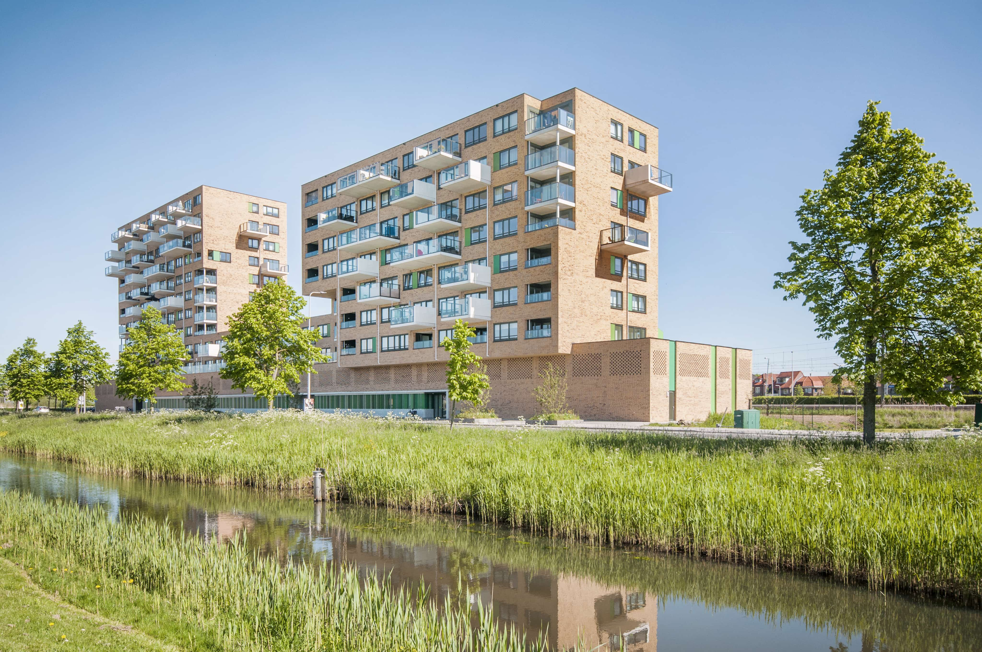 Woongebouw La GaRe Alphen aan den Rijn | LENGKEEK architecten en ingenieurs