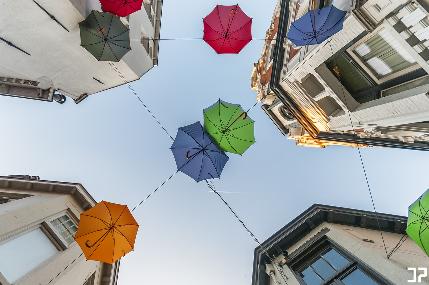 Umbrella street - Deventer
