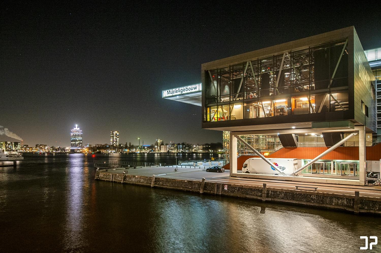 Muziekgebouw aan 't IJ en het Bimhuis - Amsterdam